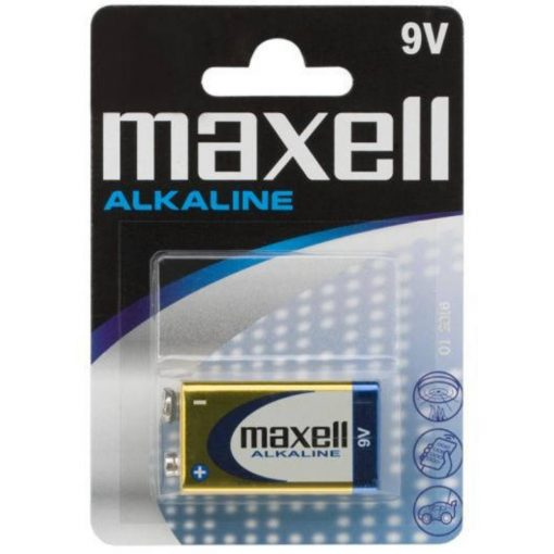 Maxell 6LR61 9V alkáli elem