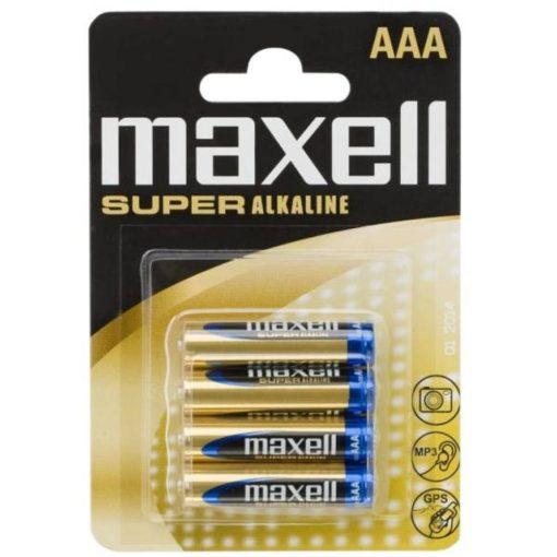 Maxell LR03 AAA 4db-os alkáli elem (micro)
