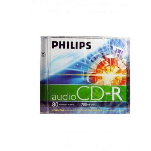 CD lemez Philips 80' R slim műanyag tokos