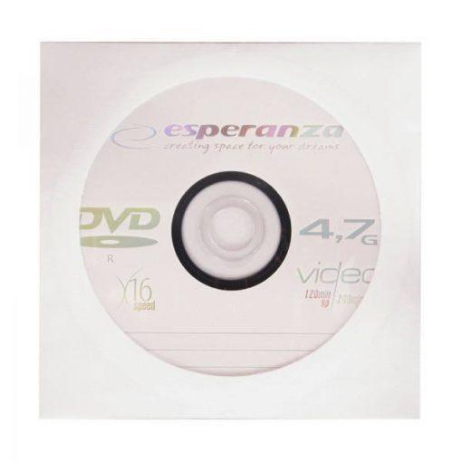 DVD-R lemez Esperanza 4,7GB papírtokos